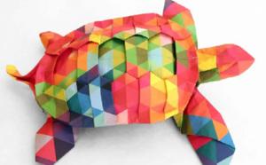 L'origami une autre façon de penser la créativité par Isabelle Barth